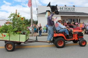 Incredible Edible Milbridge cart