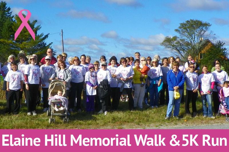 Elaine Hill Memorial Walk & 5K