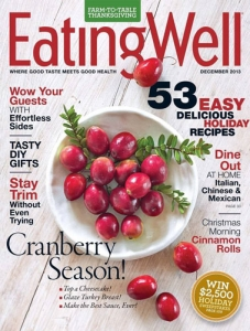 Win a subscription to eating well magazine.