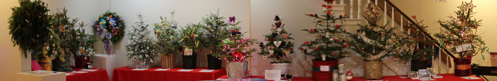 Annual Christmas Tree Festival and Auction